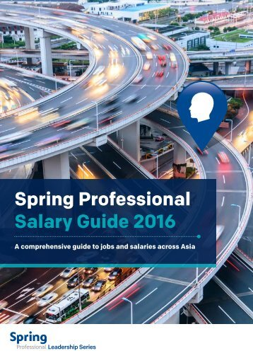 Spring Professional Salary Guide 2016