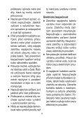 BlackandDecker Soffiante Depress- Gw2810 - Type 1 - Instruction Manual (Czech) - Page 6