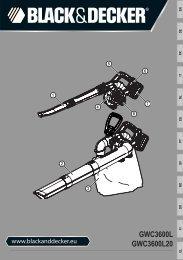 BlackandDecker Soffiante Depress- Gwc3600l - Type 1 - Instruction Manual (Europeo)