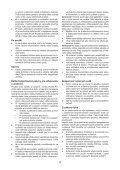BlackandDecker Soffiante Depress- Gwc1800 - Type H1 - Instruction Manual (Slovacco) - Page 4