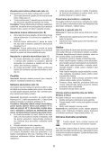 BlackandDecker Soffiante Depress- Gwc1800 - Type H1 - Instruction Manual (Slovacco) - Page 6