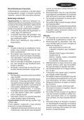 BlackandDecker Soffiatore- Gw3010v - Type 2 - Instruction Manual (Ungheria) - Page 5