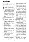 BlackandDecker Soffiante Depress- Gw2600 - Type 5 - Instruction Manual (Romania) - Page 4