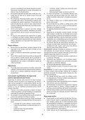 BlackandDecker Soffiante Depress- Gw2600 - Type 5 - Instruction Manual (Romania) - Page 5