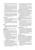 BlackandDecker Soffiante Depress- Gwc3600l - Type 1 - Instruction Manual (Ungheria) - Page 6