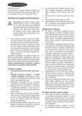 BlackandDecker Soffiante Depress- Gw2600 - Type 6 - Instruction Manual (Slovacco) - Page 4