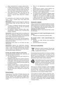 BlackandDecker Rastrello- Gd300x - Type 1 - Instruction Manual (Polonia) - Page 7
