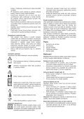 BlackandDecker Rastrello- Gd300x - Type 1 - Instruction Manual (Czech) - Page 5