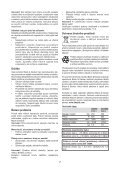 BlackandDecker Rastrello- Gd300x - Type 1 - Instruction Manual (Czech) - Page 7