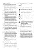 BlackandDecker Soffiatore- Gw3010v - Type 1 - Instruction Manual (Czech) - Page 6