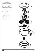 BlackandDecker Spremiagrumi- Cj650(N) - Type 1 - Instruction Manual (MEA) - Page 2