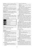 BlackandDecker Lavapavimenti A Vapore- Fsm1620 - Type 1 - Instruction Manual (Slovacco) - Page 5