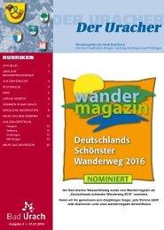 Der Uracher KW 03-2016