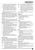 BlackandDecker Aspipolv Bagno/asciu- Nw3620n - Type H1 - Instruction Manual (Lituania) - Page 7