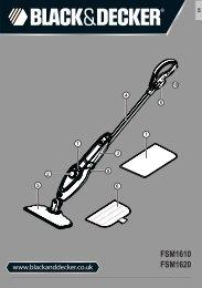 BlackandDecker Lavapavimenti A Vapore- Fsm1620 - Type 1 - Instruction Manual (Inglese)