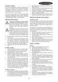 BlackandDecker Aspipolv Bagno/asciu- Nw4820n - Type H1 - Instruction Manual (Slovacco) - Page 5