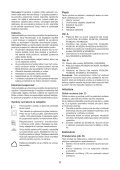 BlackandDecker Aspipolv Bagno/asciu- Nw4820n - Type H1 - Instruction Manual (Slovacco) - Page 6