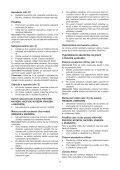 BlackandDecker Aspipolv Bagno/asciu- Nw4820n - Type H1 - Instruction Manual (Slovacco) - Page 7