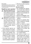 BlackandDecker Lavapavimenti A Vapore- Fsm1620 - Type 1 - Instruction Manual (Balcani) - Page 5