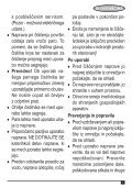 BlackandDecker Lavapavimenti A Vapore- Fsm1620 - Type 1 - Instruction Manual (Balcani) - Page 7