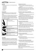 BlackandDecker Aspira Vapore- Fss1600 - Type 1 - Instruction Manual (Australia Nuova Zelanda) - Page 6