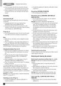 BlackandDecker Aspipolv Bagno/asciu- Wd9610 - Type H1 - Instruction Manual (Inglese) - Page 6