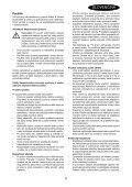 BlackandDecker Aspiratori Ricaricabili Portatili- Pv9605 - Type H1 - Instruction Manual (Slovacco) - Page 5
