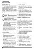 BlackandDecker Aspiratori Ricaricabili Portatili- Nv3610n - Type H1 - Instruction Manual (Lituania) - Page 6