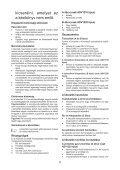 BlackandDecker Aspirapolv Per Auto- Adv1210 - Type H1 - Instruction Manual (Ungheria) - Page 5