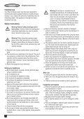 BlackandDecker Lavapavimenti A Vapore- Fsm1630 - Type 1 - Instruction Manual (Francese) - Page 4