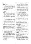 BlackandDecker Aspipolv Bagno/asciu- Nw3620n - Type H1 - Instruction Manual (Romania) - Page 7