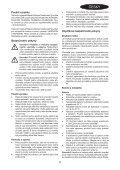 BlackandDecker Aspiratori Ricaricabili Portatili- Nv4820cn - Type H1 - Instruction Manual (Czech) - Page 5