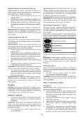 BlackandDecker Lavapavimenti A Vapore- Fsm1630 - Type 1 - Instruction Manual (Slovacco) - Page 5