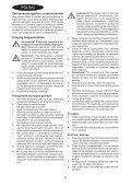 BlackandDecker Lavapavimenti A Vapore- Fsm1630 - Type 1 - Instruction Manual (Polonia) - Page 4
