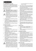 BlackandDecker Lavapavimenti A Vapore- Fsm1500 - Type 1 - 2 - Instruction Manual (Ungheria) - Page 4