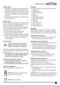 BlackandDecker Lavapavimenti A Vapore- Fsm1630 - Type 1 - Instruction Manual (Inglese - Arabo) - Page 5