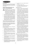 BlackandDecker Aspiratori Ricaricabili Portatili- Pv1225n - Type H1 - Instruction Manual (Russia - Ucraina) - Page 4