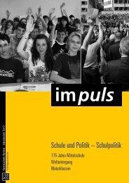 impuls - Kantonsschule Oerlikon