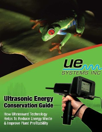 Energy Conservation Guide - UE Systems Inc