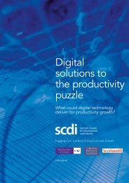 solutions to the productivity puzzle