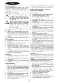 BlackandDecker Aspiratori Ricaricabili Portatili- Dv7210 - Type H1 - Instruction Manual (Czech) - Page 4