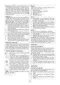 BlackandDecker Aspiratori Ricaricabili Portatili- Nv3620n - Type H1 - Instruction Manual (Slovacco) - Page 6