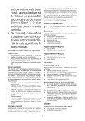 BlackandDecker Aspirapolv Per Auto- Adv1210 - Type H1 - Instruction Manual (Romania) - Page 5