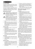 BlackandDecker Aspipolv Bagno/asciu- Wd7210n - Type H1 - Instruction Manual (Slovacco) - Page 4