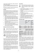 BlackandDecker Aspipolv Bagno/asciu- Wd7210n - Type H1 - Instruction Manual (Slovacco) - Page 7