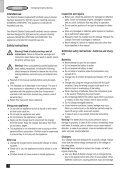 BlackandDecker Aspipolv Bagno/asciu- Wd7210n - Type H1 - Instruction Manual (Europeo) - Page 4