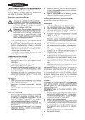 BlackandDecker Mini Vac- Orb72 - Type H1 - Instruction Manual (Polonia) - Page 4