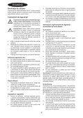 BlackandDecker Mini Vac- Orb72 - Type H1 - Instruction Manual (Romania) - Page 4