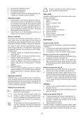 BlackandDecker Mini Vac- Orb72 - Type H1 - Instruction Manual (Romania) - Page 5