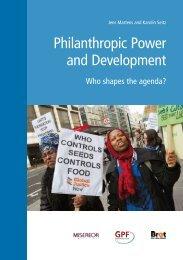 Philanthropic Power and Development